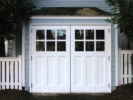 Swing Out Garage Door